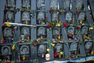 Volodymyr Zelensky a participé à des événements à occasion de la Journée de la dignité et de la liberté