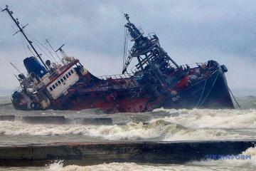 Odesa: Kleiner Öltanker in Seenot, Crew will Schiff nicht verlassen
