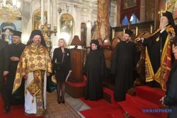 Ökumenischer Patriarch hielt Totengedenken für Opfer der Hungersnot ab