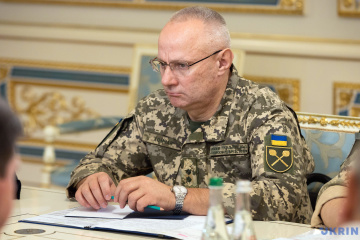 Khomchak holds phone conversation with Chairman of NATO Military Committee
