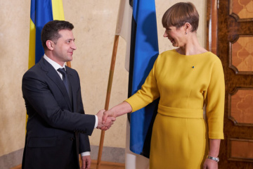 President of Estonia: Ukraine has our strong and unwavering support