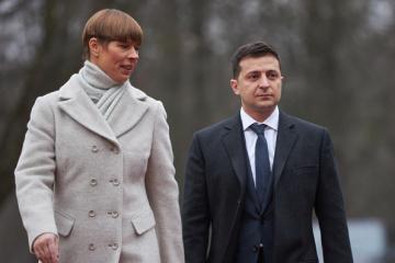Zelensky, Kaljulaid discuss fight against coronavirus