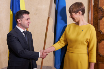 Zelensky sends birthday greetings to president of Estonia