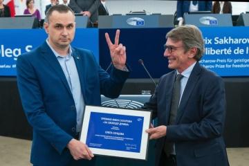 Oleg Sentsov a reçu le prix Sakharov