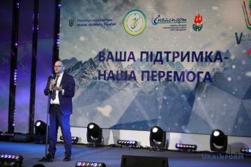 Borodiansky desea victorias al equipo nacional en los Juegos Sordolimpicos de Invierno en Italia