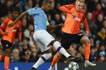 Shakhtar Donetsk draw with Manchester City in Champions League
