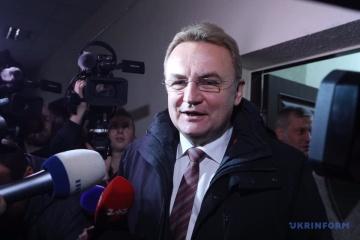 Le maire de Lviv est libéré sous caution