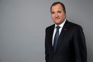 Schwedens Ministerpräsident Löfven nimmt an Gipfeltreffen der an Krim-Plattform teil