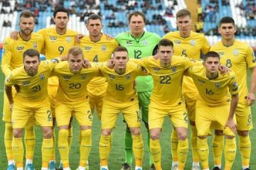 El equipo nacional de Ucrania pierde dos posiciones en el ranking de la FIFA