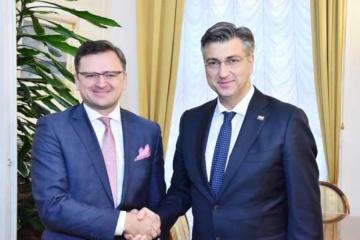 Ukraine interested in experience of Croatia's European integration – Kuleba