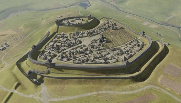 Древнее городище на Львовщине воссоздали в 3D-формате