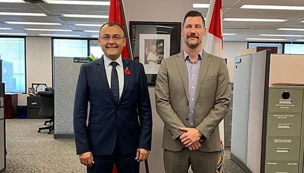 Vasyl Bodnar meets with leadership of Canada's National Defence Department