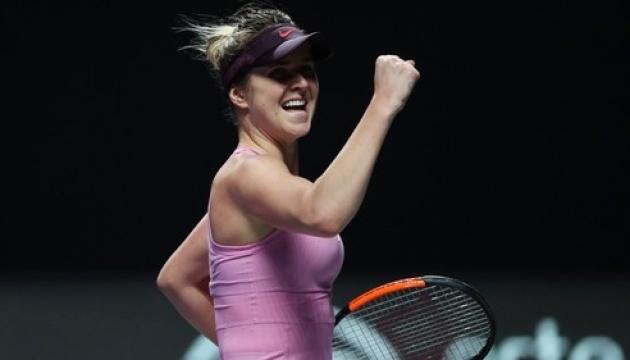 Світоліна пройшла Бенчич і зіграє у фіналі Підсумкового турніру WTA