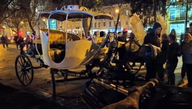 У Львові налякані коні травмували 15-річну дівчину, поліція відкрила справу