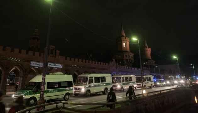 Хода лівих радикалів у Берліні вилилася в сутички з поліцією