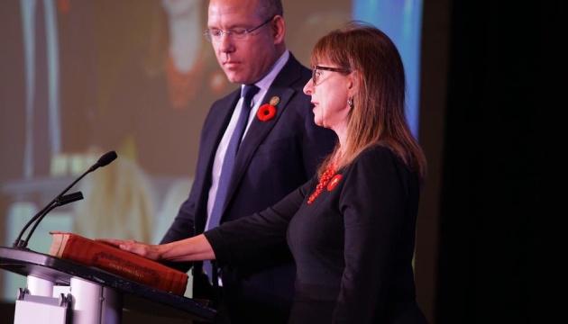 Alexandra Chyczij réélue présidente du Congrès des Ukrainien-Canadiens