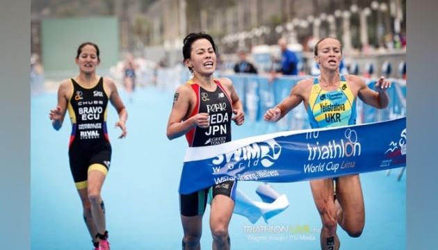 Юлія Єлістратова стала срібною призеркою Кубка світу з триатлону