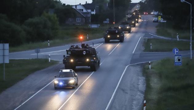 """""""Залізний вовк 2019"""": у Литві стартували навчання за участю 11 країн НАТО"""