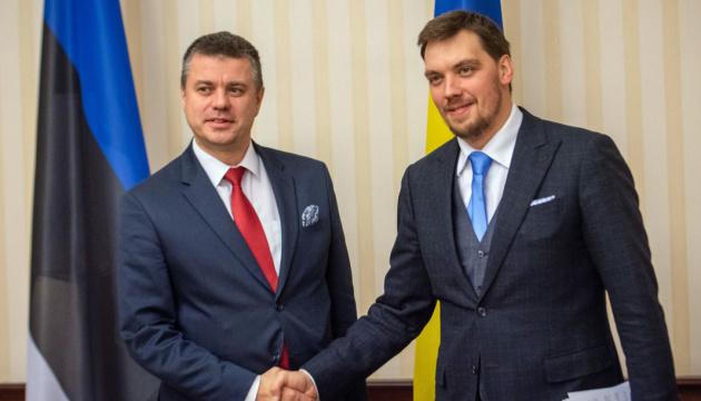 Гончарук закликає Естонію посилити спротив Nord Stream 2