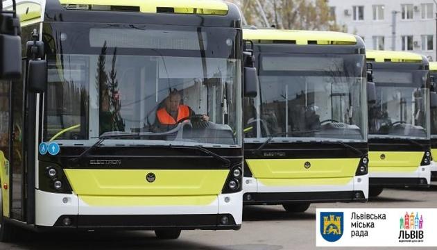 Львів одержав першу партію тролейбусів нового покоління