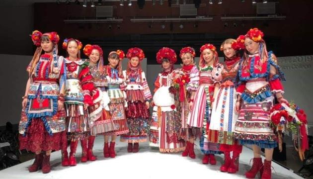 ウクライナ風ファッションショー 渋谷の文化服装学院にて開催