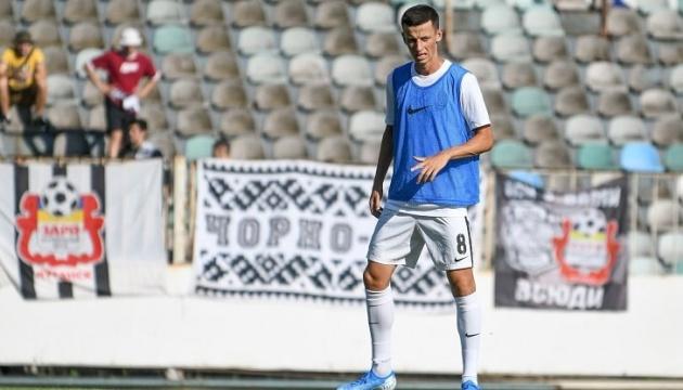 Полузащитник «Зари» Иванисеня вызван в сборную Украины