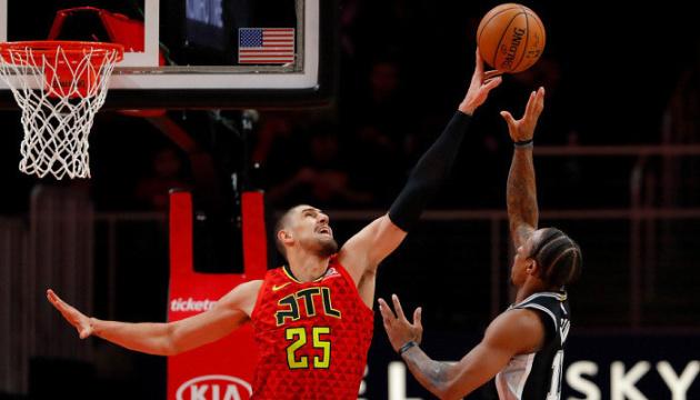 """Лень допоміг """"Атланті"""" обіграти """"Сан-Антоніо"""" в матчі НБА"""