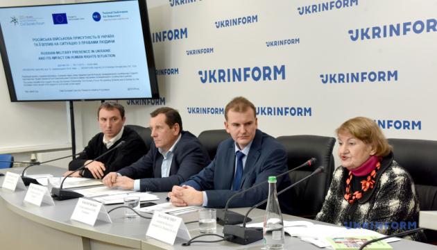 Російська військова присутність в Україні та її вплив на ситуацію з правами людини. Результати дослідження