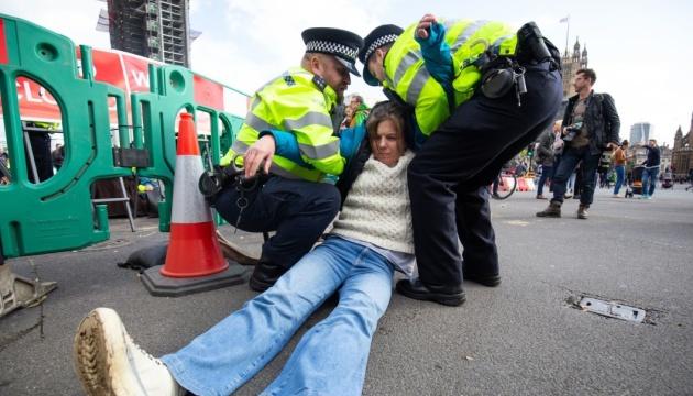 Поліція не має права забороняти екопротести - суд Лондона