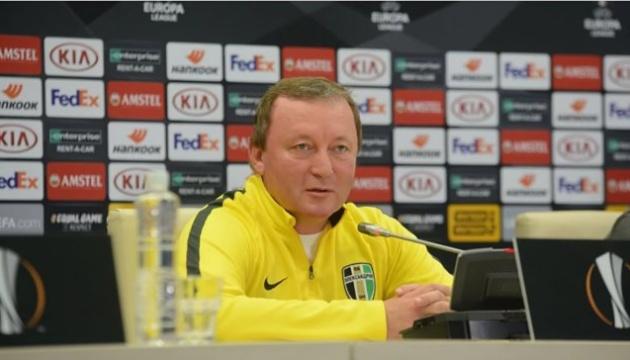 Шаран: Вірю, що у Львові Олександрія може зіграти на рівних із Сент-Етьєном