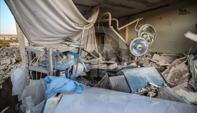 Российская авиация разбомбила роддом в Сирии