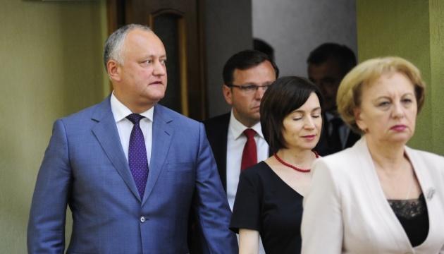Додон может отправить правительство Молдовы в отставку