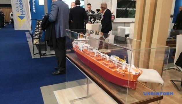 Україна презентувала технічні новації на виставці суднобудування в Роттердамі