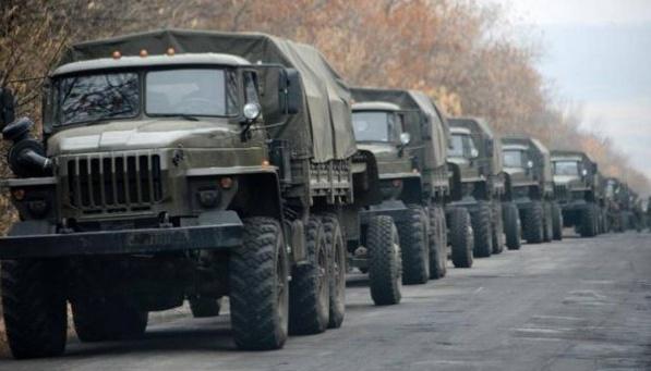 Aufklärung: Besatzer im Donbass bekommen aus Russland weiter Munition und gepanzerte Fahrzeuge