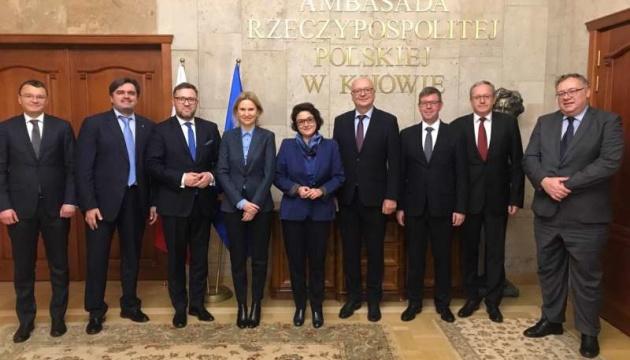 Україна зацікавлена у співпраці в рамках ініціативи Трьох морів - віцеспікер