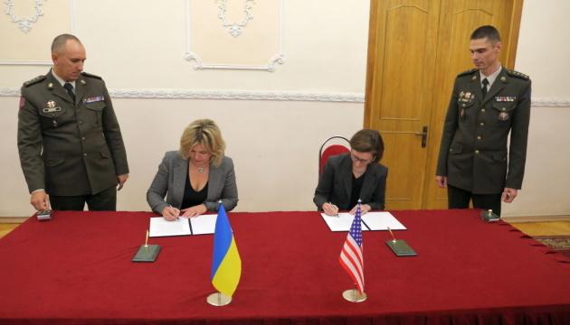 Ukraine, US sign protocol on defense cooperation