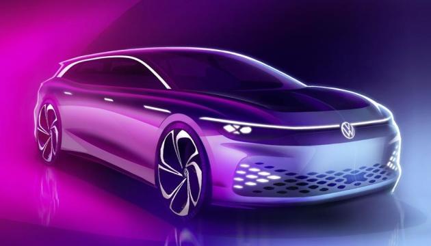 Volkswagen показав концепт електричного універсала