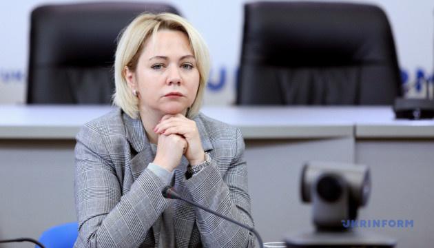 Коляда розповіла про роботу Мінветеранів зі звільненими з полону в'язнями РФ