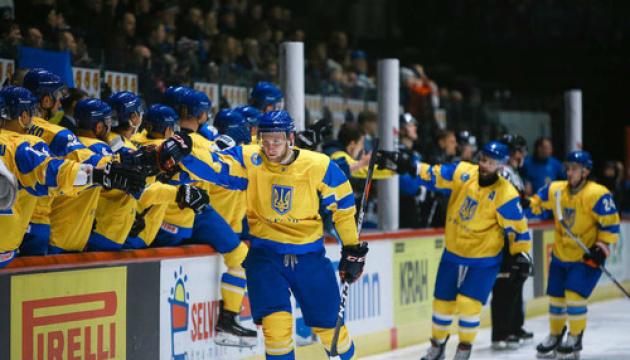 Збірна України перемогла Естонію на хокейному турнірі в Таллінні