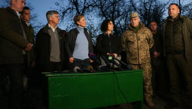 Посол ФРН - про розведення у Петрівському: Україна свої зобов'язання виконала