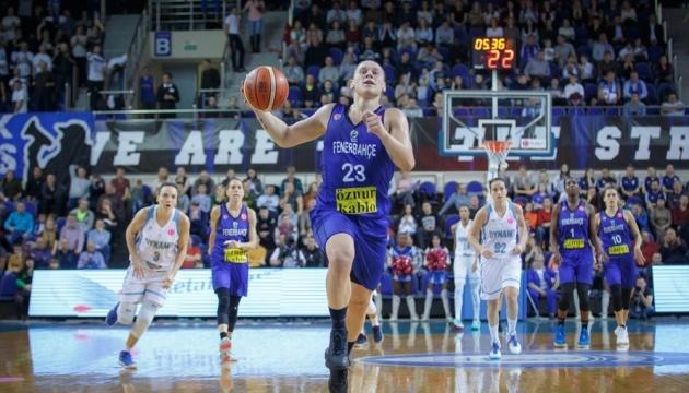 Українка Аліна Ягупова найрезультативніша в баскетбольній Євролізі