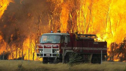 В Австралії палає один з штатів — майже сотня лісових пожеж
