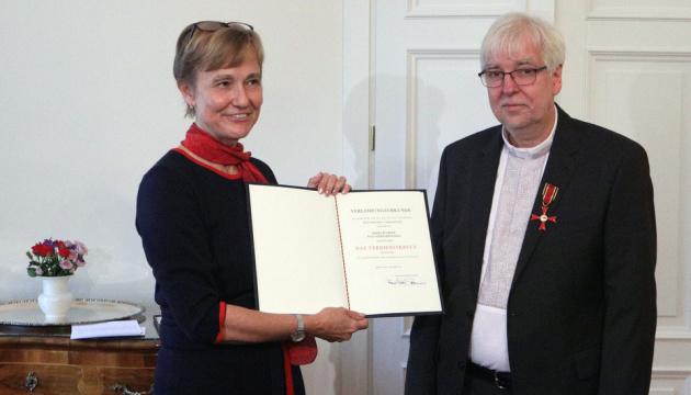 У Німеччині нагородили орденом пастора, який підтримував активістів Майдану