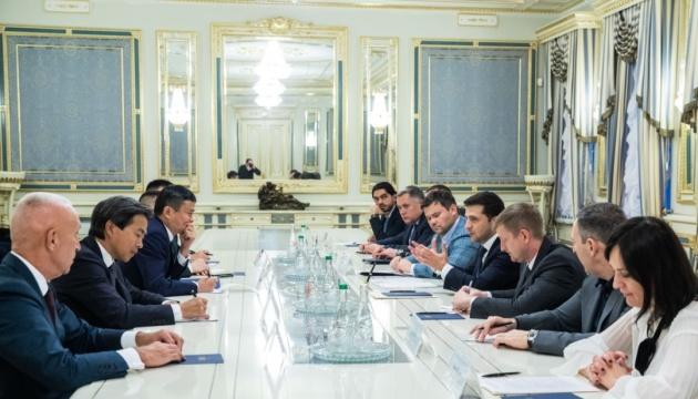 Зеленський запропонував засновнику Alibaba відкрити R&D-центр в Україні