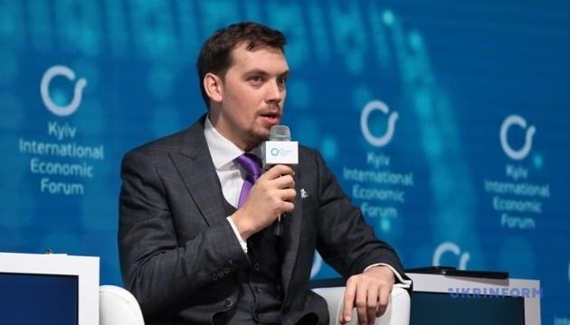 Premierminister Hontscharuk versichert, dass Einfluss von Oligarchen abnimmt