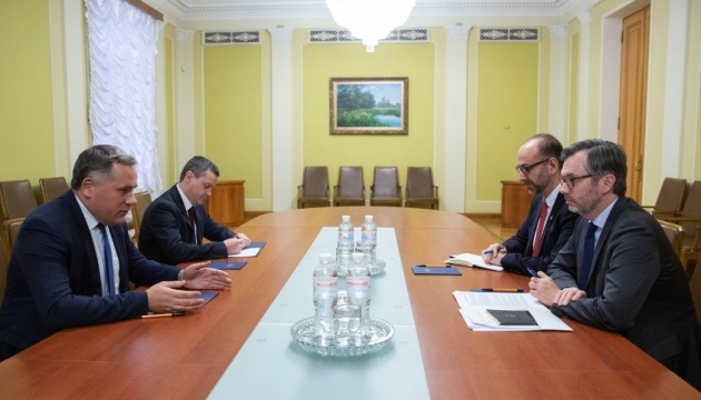 Deputy Head of President's Office meets with Assistant Deputy Minister of Global Affairs Canada