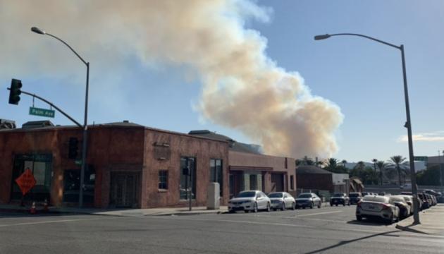 Warner Brothers евакуювали через лісову пожежу