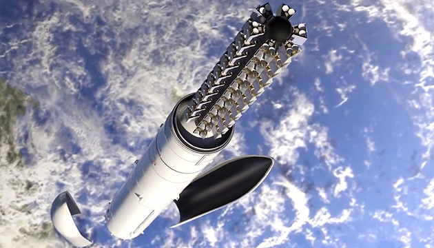 SpaceX успешно вывела на орбиту еще 60 интернет-спутников для Starlink