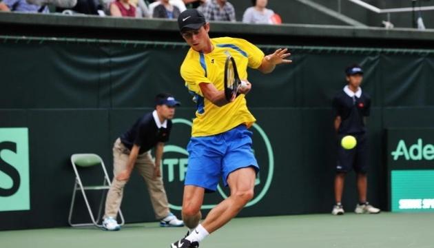 Украинец Калениченко проиграл австралийцу на турнире АТР в Индии
