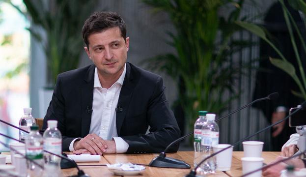 Зеленський не бачить необхідності пов'язувати питання Донбасу та газу
